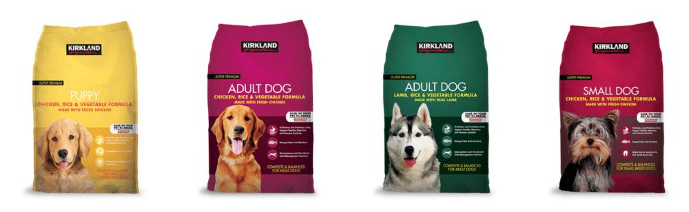 Kirkland Dog Food Product Row