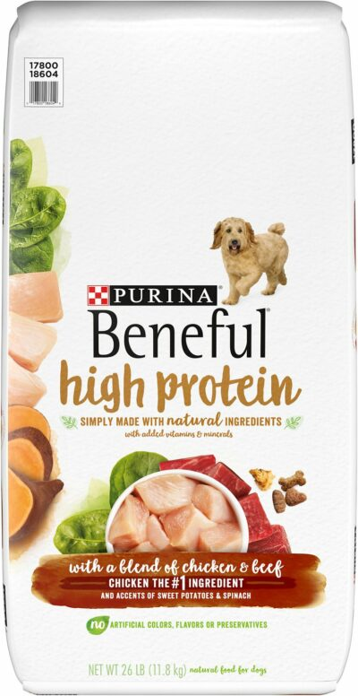 Purina Beneful High Protein Chicken and Beef
