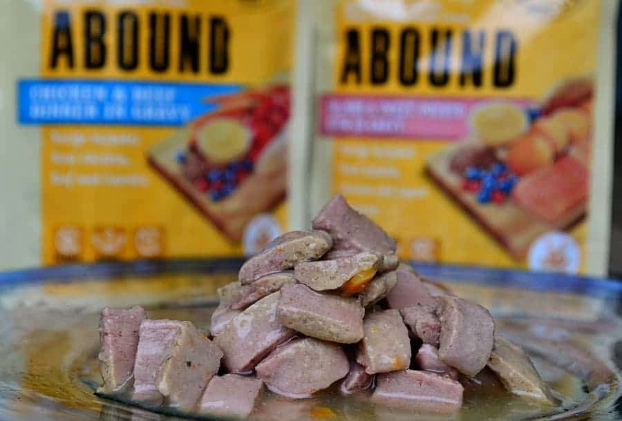 Abound Dog Food in Bowl