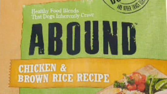 Abound Dog Food
