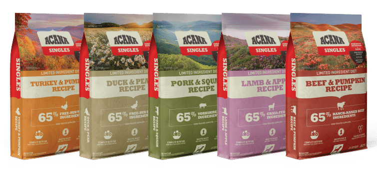 Acana Dog Food Products
