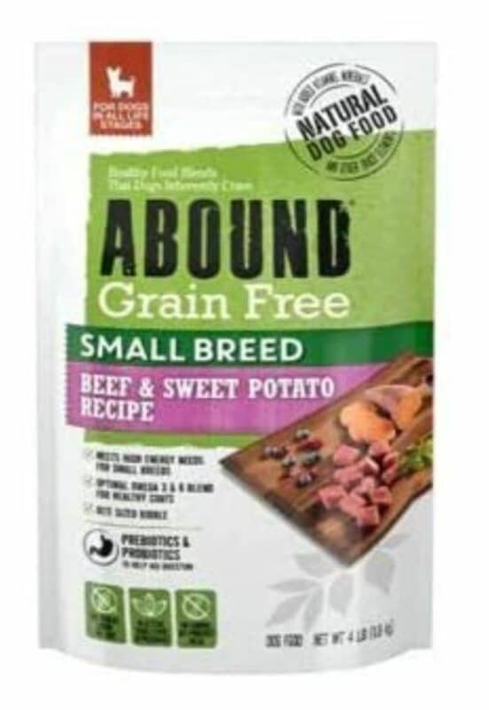 Abound dog food