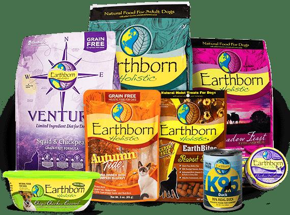 Earthborn Dog Food Products