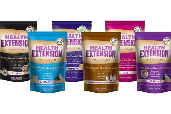 Health Extension Dog Food Products
