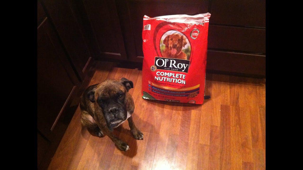 Ol Roy Dog Food With Dog