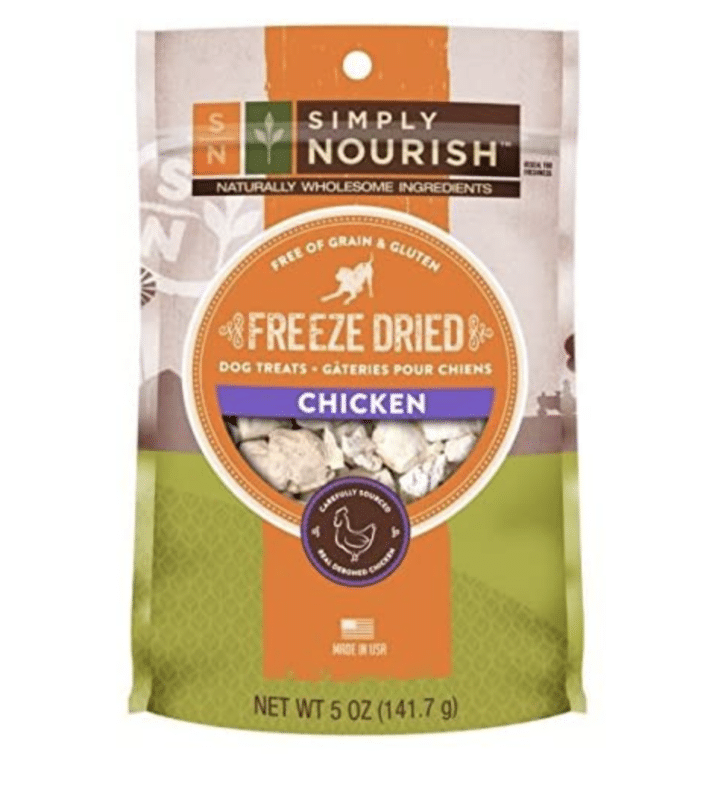 Simply Nourish dog food.