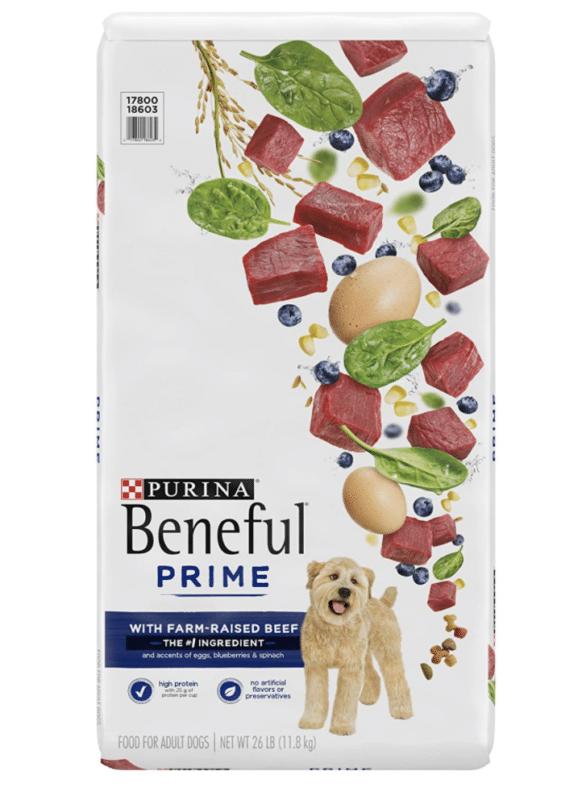 Beneful dog food.