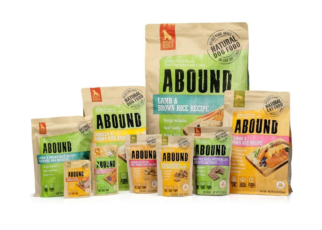 Variety of Abound Dog Food
