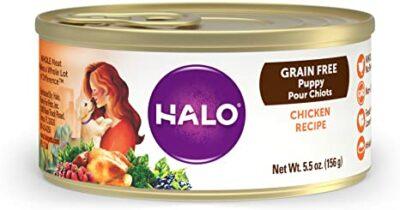 halo dog food